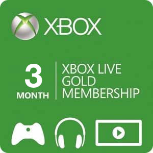 XBOX LIVE GOLD subscription for 3 months - RU/EU/US