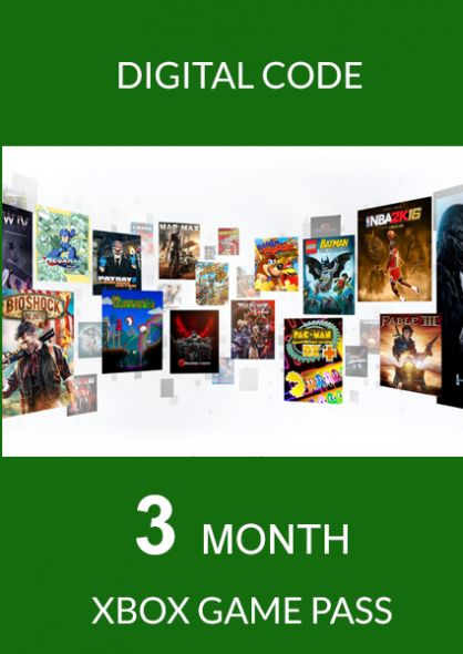 XBOX GAME PASS 3 months (Xbox One) - GLOBAL