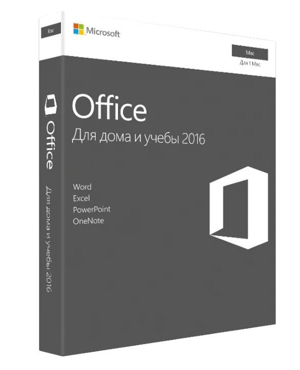 Microsoft Office 2016 Home and Student - For Mac