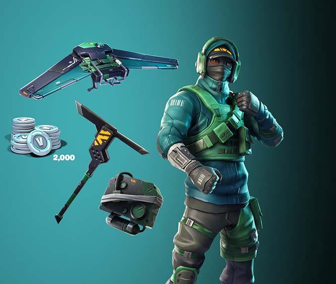йGeForce Bundle 2000 V-Bucks + Counterattack Set 2019