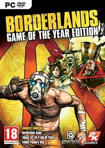 BORDERLANDS: GAME OF THE YEAR EDITION REGION FREE