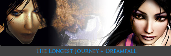 The Longest Journey + Dreamfall (Steam/RU+CIS)
