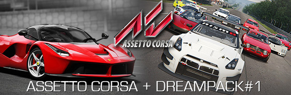 Assetto Corsa + Dream Packs (Steam Gift/RU+CIS)