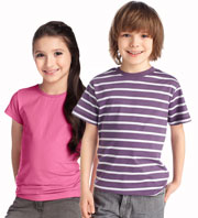 Pattern T-shirts for students 8-9-10 years