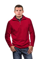 Ready-made pattern for men´s sweatshirt in four sizes