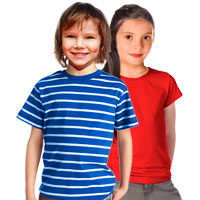 Ready-made pattern for children´s t-shirt