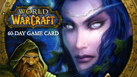 World of Warcraft тайм-карта 60 дней (EURO)