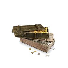 10.000 gold + silver 10.000.000 World of Tanks (RU)