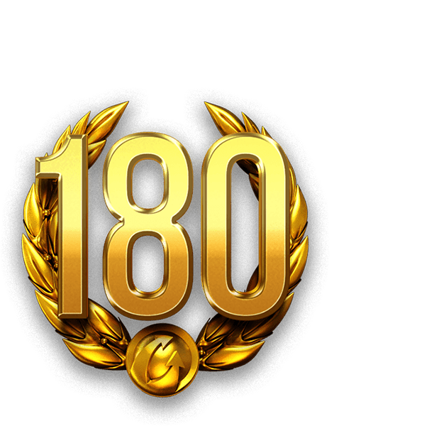 180 days Premium account World of Tanks