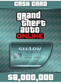 Grand Theft Auto V + Megalodon Shark Cash Card