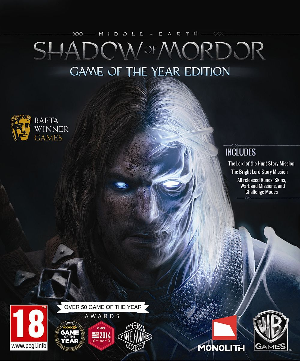 Middle-earth Shadow of Mordor GOTY (Steam | Global)