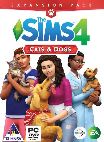 The Sims 4 Cats and Dogs DLC (Origin | Region Free)