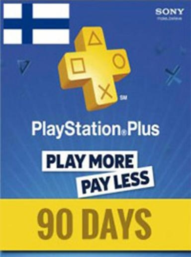 PlayStation Network Card (PSN) 90 Days (Finland)