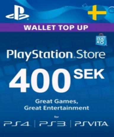 Playstation Network Card (PSN) 400 SEK (Sweden)