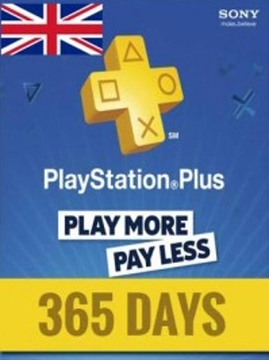 PlayStation Network Card (PSN) 365 Days (United Kingdom)