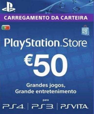 Playstation Network Card (PSN) 50 EUR (Portugal)