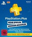 PlayStation Network Card (PSN) 365 Days (German)