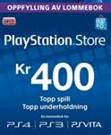 Playstation Network Card (PSN) 400 NOK (Norway)