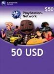 Playstation Network Card (PSN) 50 $ (USA)