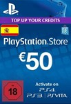 Playstation Network Card (PSN) 50 EUR (Spain)