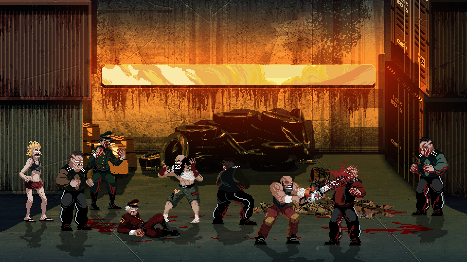 Mother Russia Bleeds (Steam Gift / RU+CIS) + ПОДАРОК