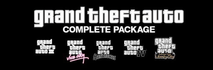 Grand Theft Auto Complete Pack (Steam Gift/RU+CIS)