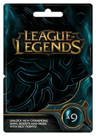 Riot Points League of Legends Gift Card 1580RP (EUW/NE)