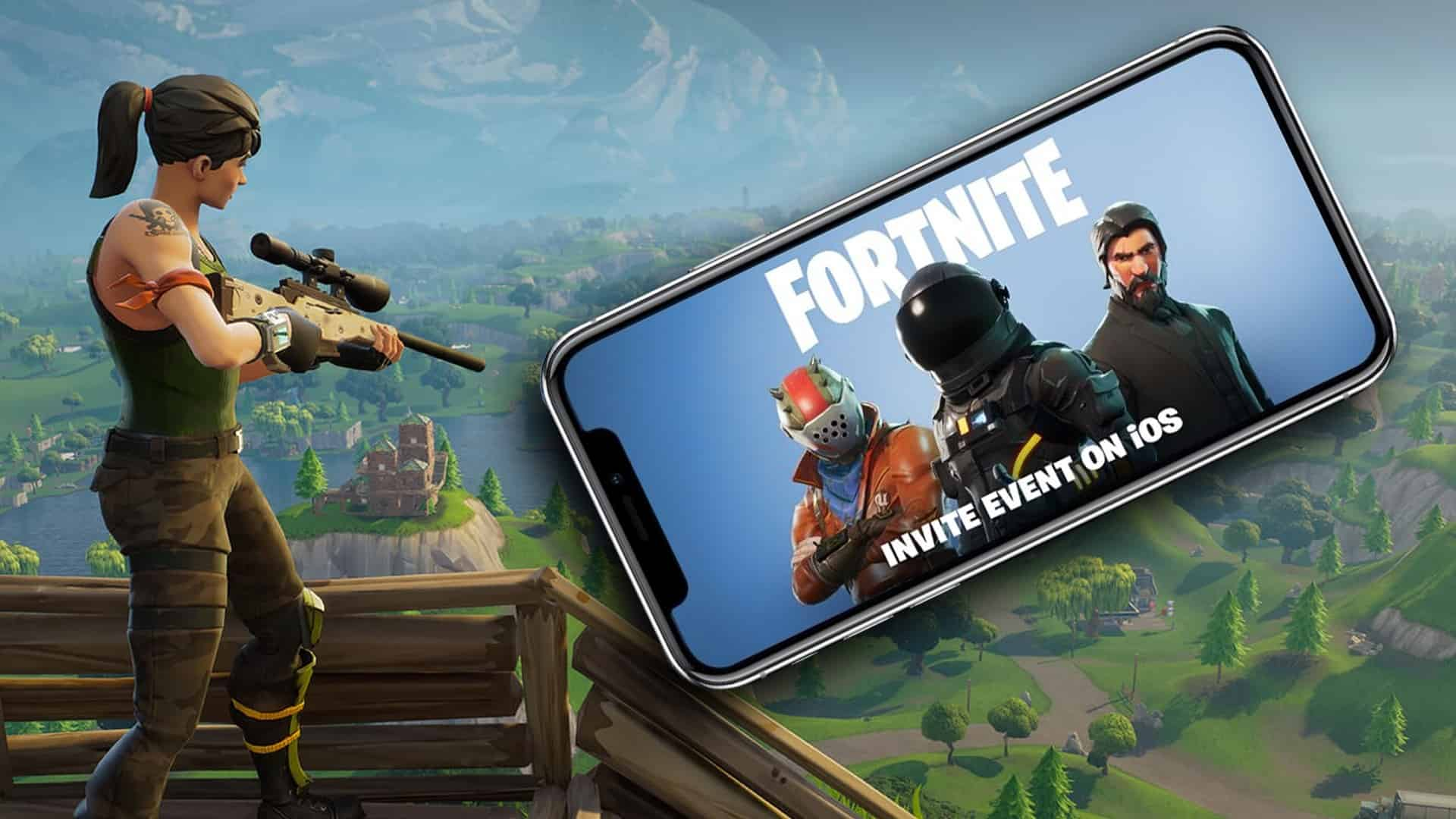 FORTNITE Battle Royale key iOS |EPICGAMES&#9989