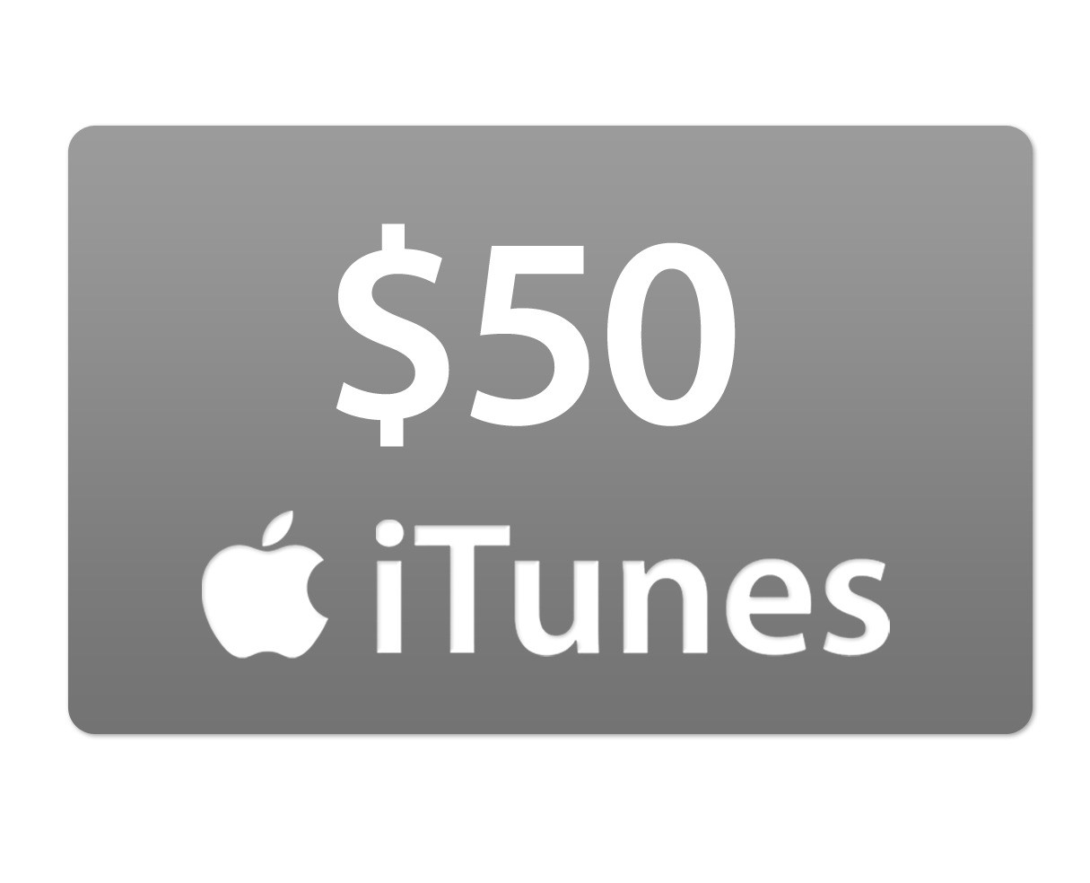 iTUNES GIFT CARD - 50$ - (USA)