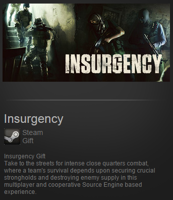 Insurgency ( Steam Gift / Region Free ) ROW + Подарок
