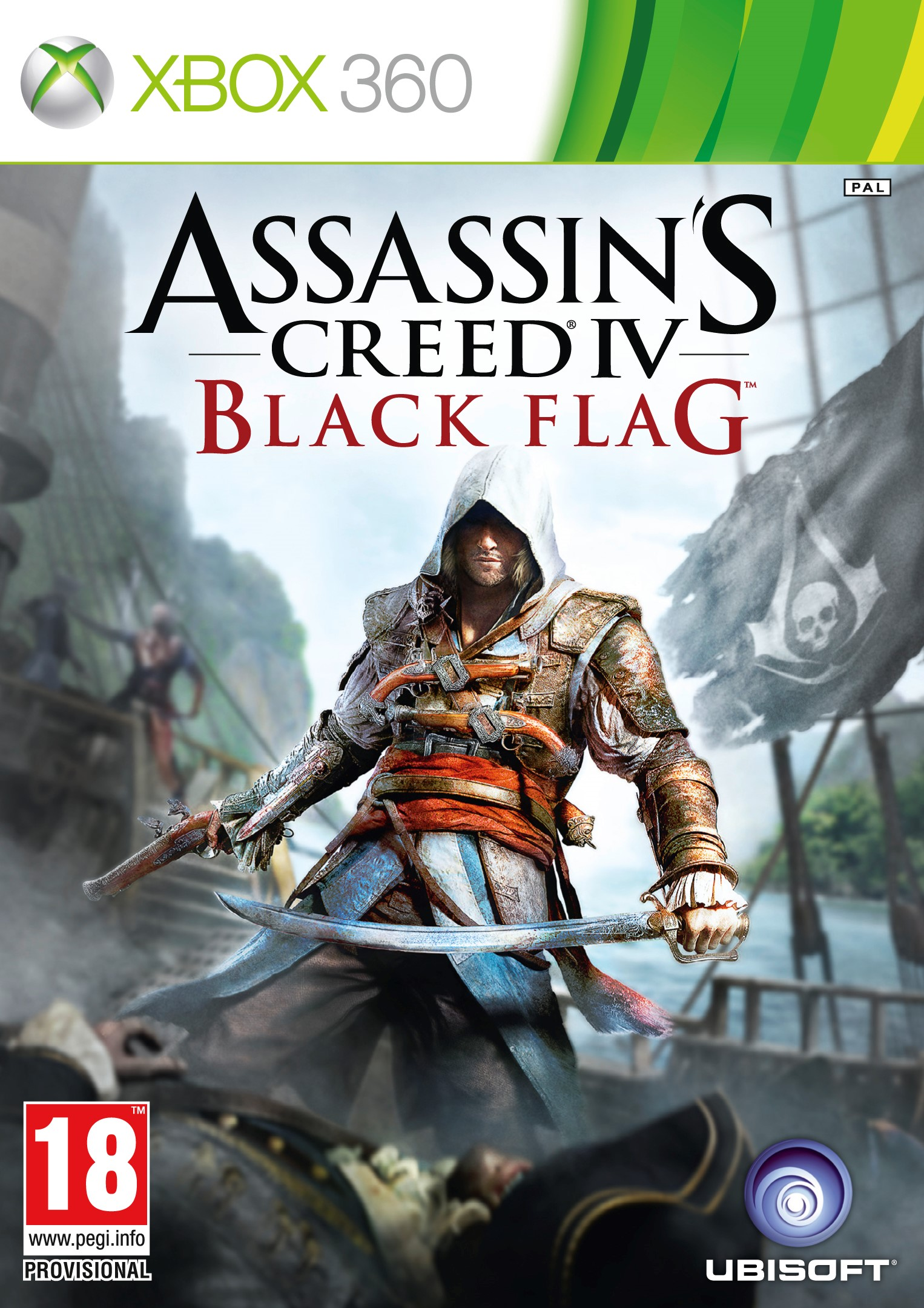 Assassin´s Creed IV + 14 games overall account XBOX 360