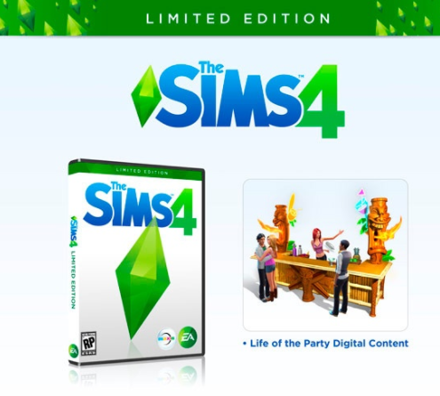 The Sims ™ 4 Limited + | SECRET | + | MAIL CHANGE