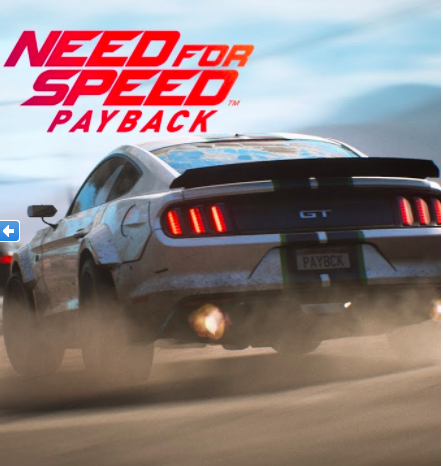 NEED FOR SPEED PAYBACK + 2 YEAR WARRANTY