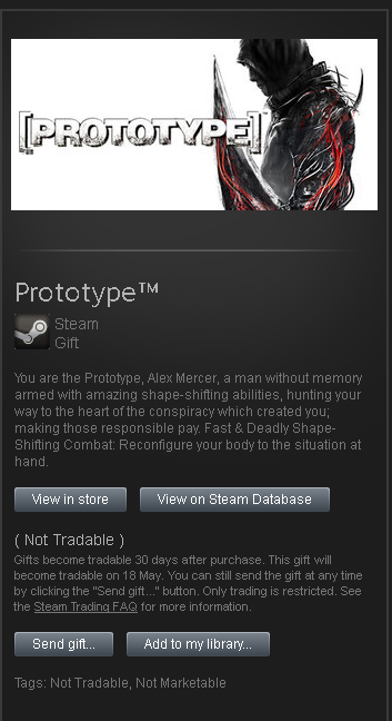 Prototype ™ █ STEAM GIFT RoW / Worldwide