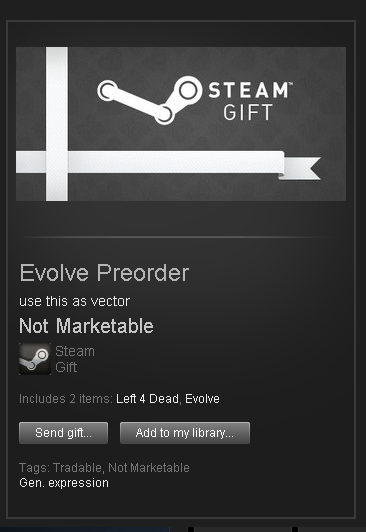 Evolve █ ROW STEAM GIFT █ + Bonus: L4D