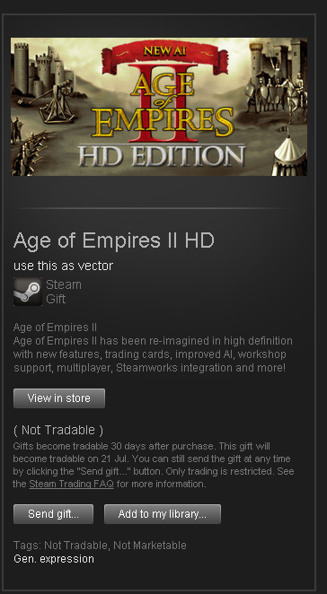 Age of Empires II HD RoW Steam GIFT
