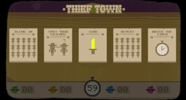 Thief Town (STEAM KEY/ Region free)