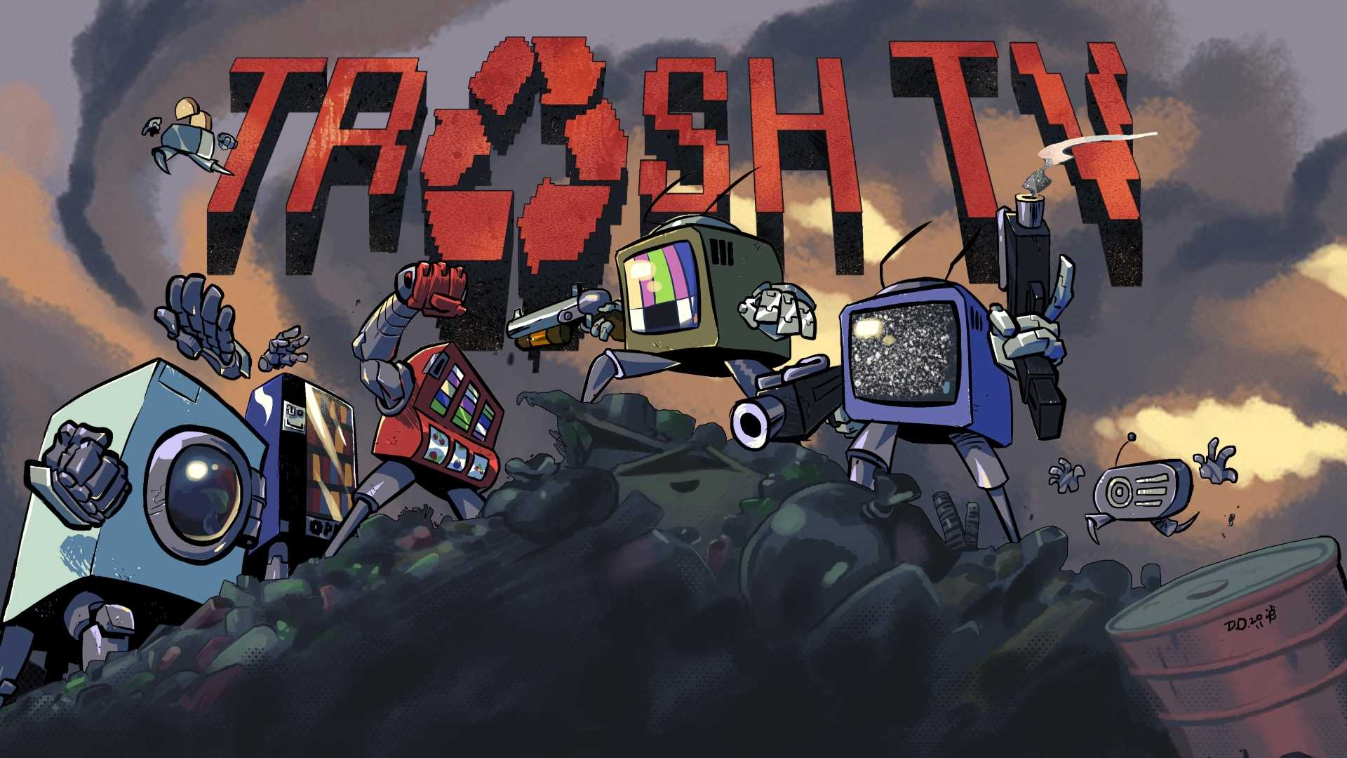 Trash TV (STEAM KEY/ Region free)