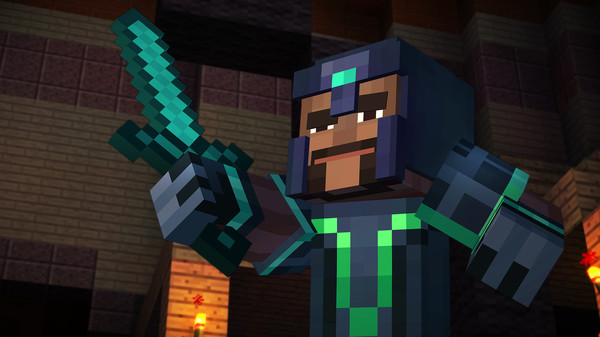 Minecraft Story Mode - A Telltale Games Series (RU+CIS)