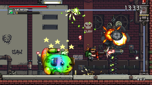 Mercenary Kings (STEAM KEY/ Region free)