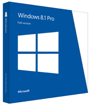 Windows 8.1 Pro 32-bit/64-bit Russian Russia Only BOX