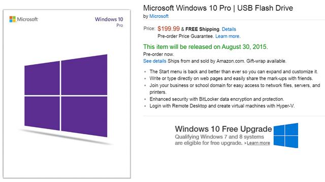 Microsoft Windows 10 Home English Usb Flash Drive: Buy Windows 10 Pro 64-bit Russian DSP OEI DVD And Download
