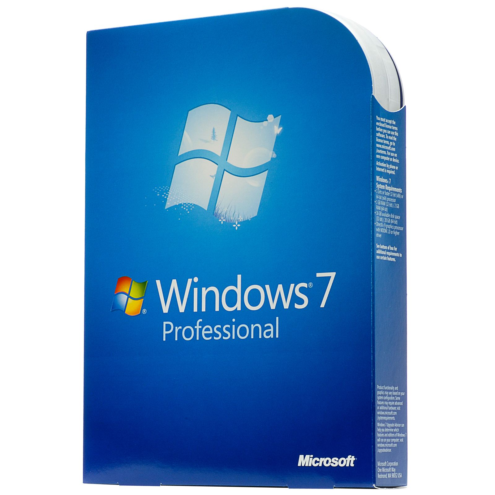 Windows 7 Professional (х64/х32) + Kaspersky