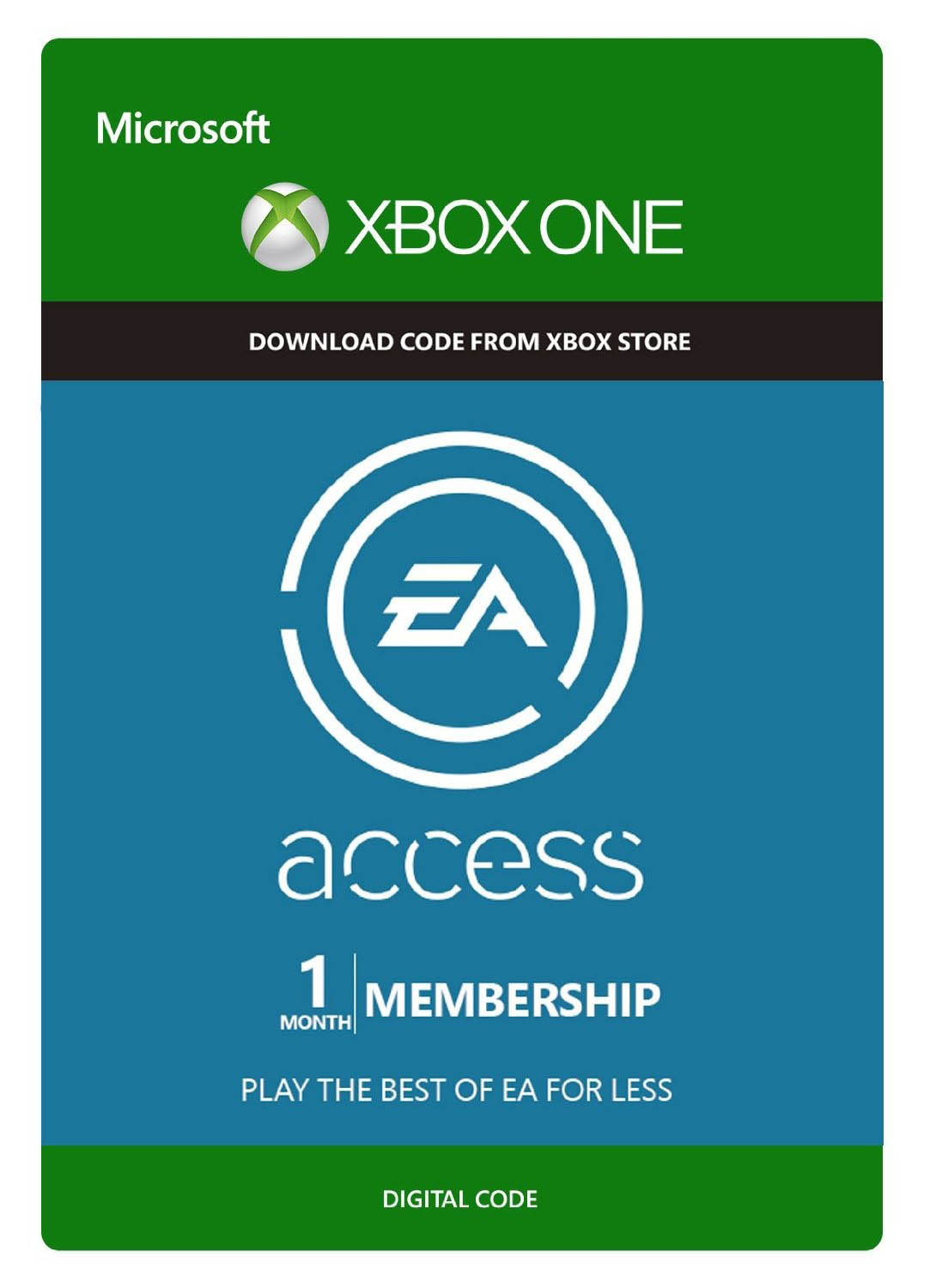 EA Access 1 Month (Xbox One) +14 day GOLD free