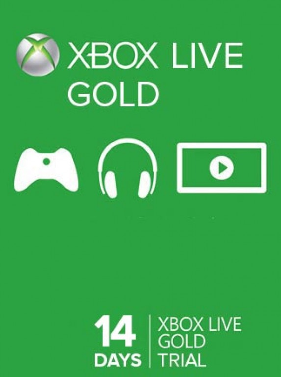 Xbox Live Gold 14 days (RUS / EU / USA) +14 day free
