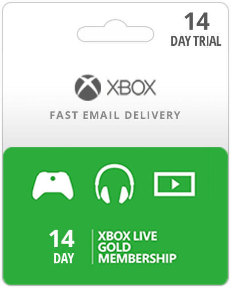 Xbox Live Gold 14 days x1|360 GLOBAL RENEWAL + 14day