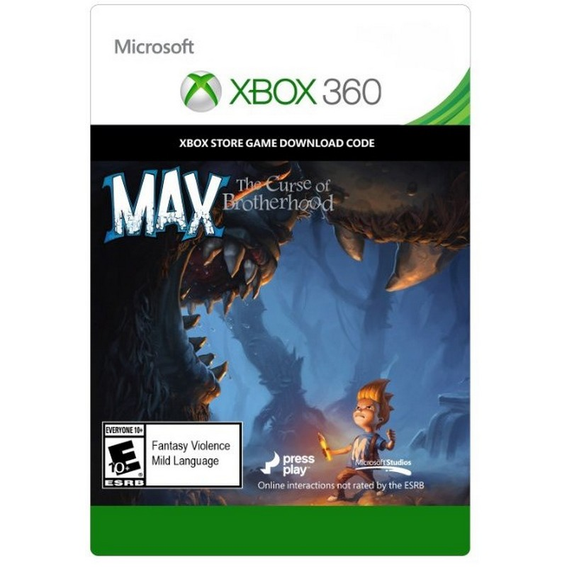 Max: curse of the brotherhood (xbox 360) +48 hours as a