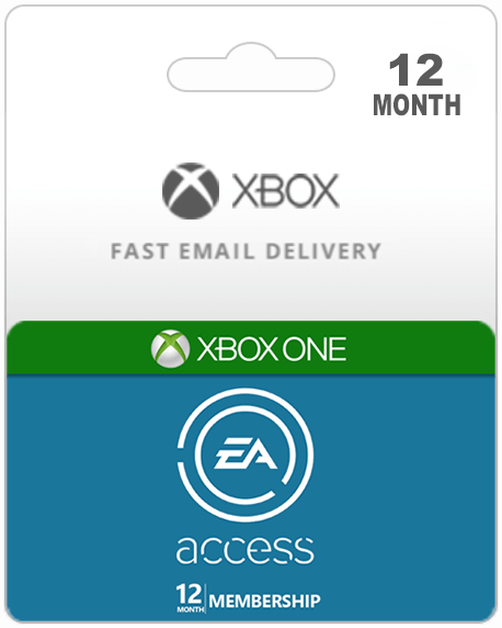 EA Access 12 Month (Xbox One) +14 day free