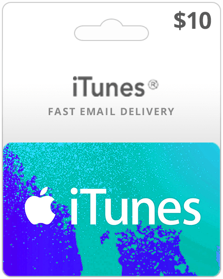 iTunes ( Card Payment | Gift Card ) 10 USD - USA