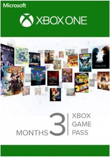 Xbox Game Pass 3+1 month  (Xbox One) + 14 days Pass